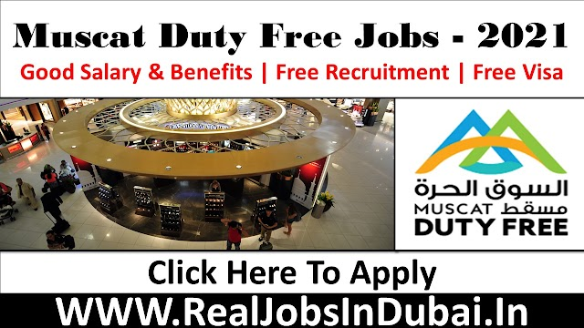 Muscat Duty Free Hiring Staff In Oman 2021