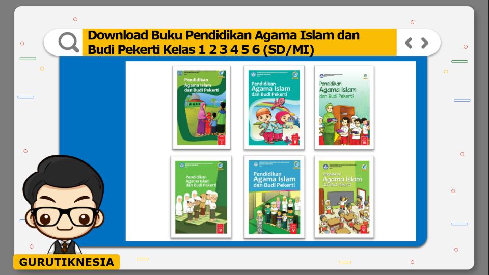 download gratis buku pdf pendidikan agama islam dan budi pekerti sd/mi