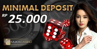casino online deposit 25 ribu