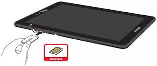 tablet dapat dipasang simcard untuk internet