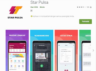 Aplikasi Star Pulsa