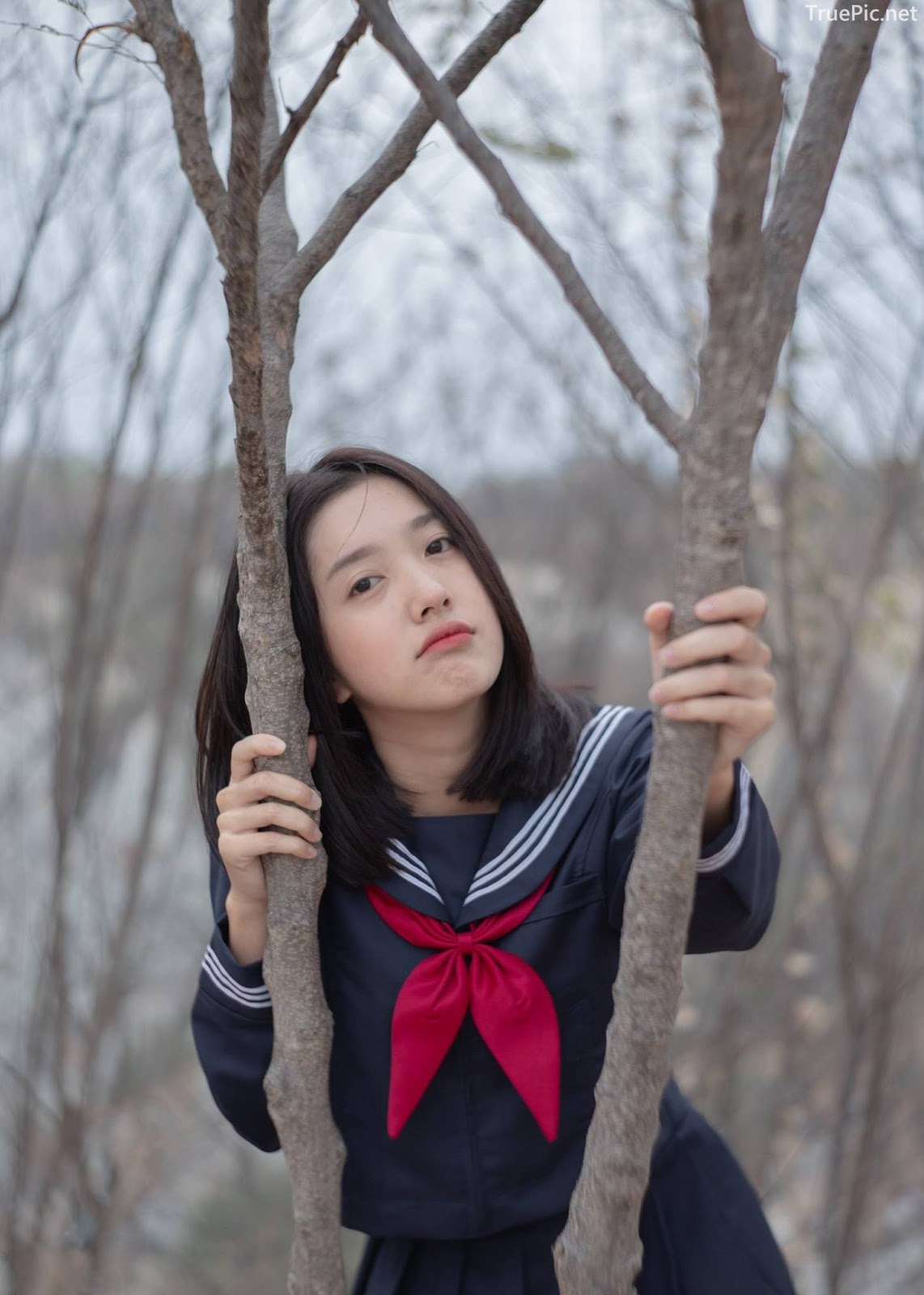 Hot girl Thailand Purewarin Kosiriwalanon - Cosplay Little Playful School Girl - Picture 12