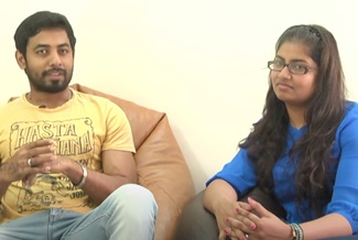 Actor Aari about his wife Nathiya