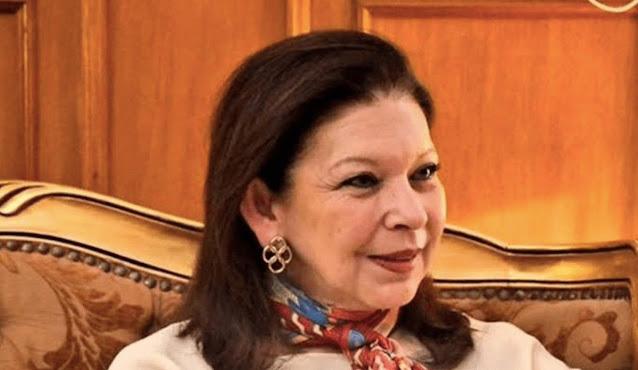 María Teresa Mercado Pérez, embajadora de México ante Bolivia regresa a La Paz. Twitter