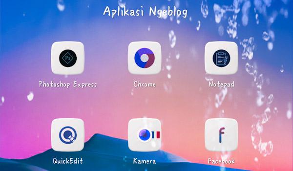 Aplikasi Ngeblog di Android
