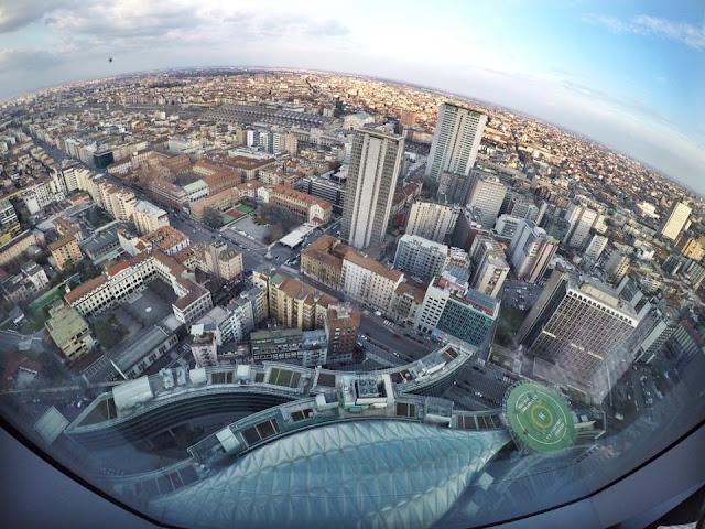 Milano Skyline // La vista dal Palazzo della Regione, palazzo della regione belvedere milano, fashion need valentina rago, vista su milano, milano grattacieli, milano panorama