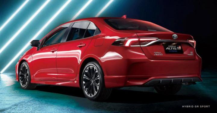 Toyota Corolla Altis có thêm bản thể thao GR Sport