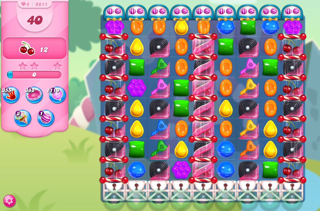 Candy Crush Saga level 9211