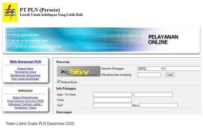 PLN Token Listrik Gratis 2 Desember 2020, Login www.stimulus.pln.co.id atau WhatsApp PLN 08122123123