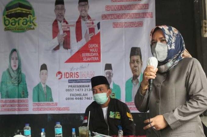 Qonita Minta Barisan Relawan Kabah  Bersinergi Bangun Kekuatan di Depok