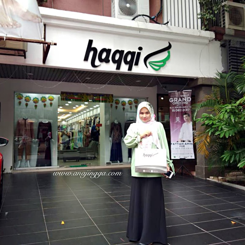 Butik HAQQI Hub Kelengkapan Haji & Umrah Dan Fesyen Patuh Syariah