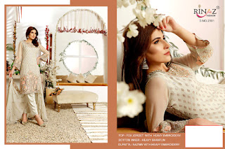 Rinaz Fashion Signature Georgette Pakistani Suits Collection In Wholesale Rate