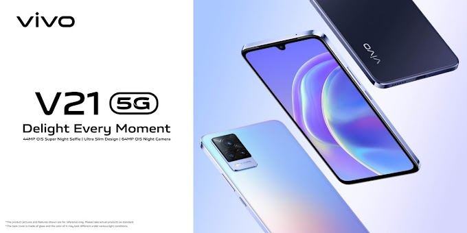 Vivo V21 5G With OIS-Equipped Selfie Camera Launched in India