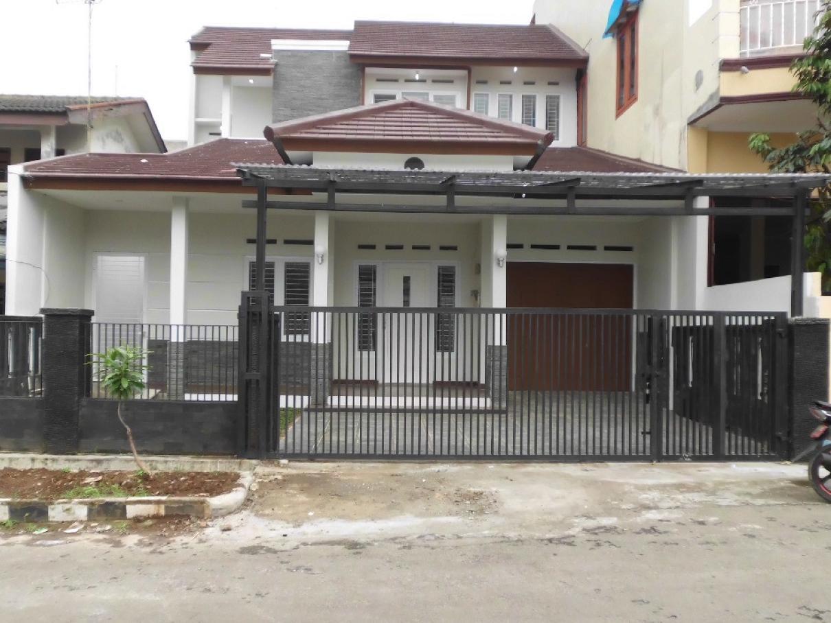 Hasil proyek Renovasi total & pengembangan Rumah 1 Lantai Menjadi 2 lantai miliki Bpk Praweko TP di Jl. Pondok Rumput, Kebon Pedes, Bogor, Tahun 2013