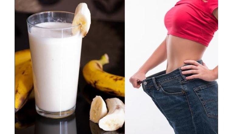Cara Menurunkan Berat Badan 4 Kg dalam 4 Hari Dengan Diet Pisang dan Susu