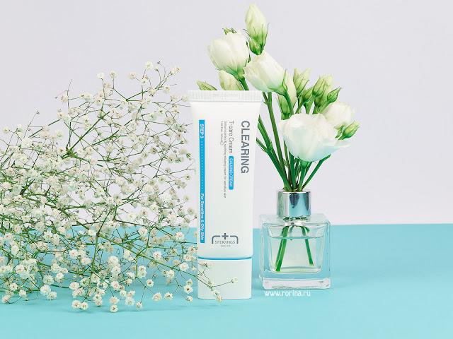 Корейский крем для проблемной кожи Sferangs Clearing T-Care Cream: отзывы с фото