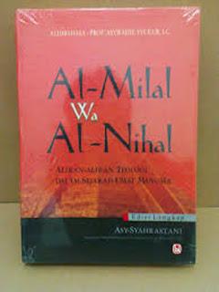Buku Al Milal Wal AL Nihal Toko Buku Aswaja Surabaya