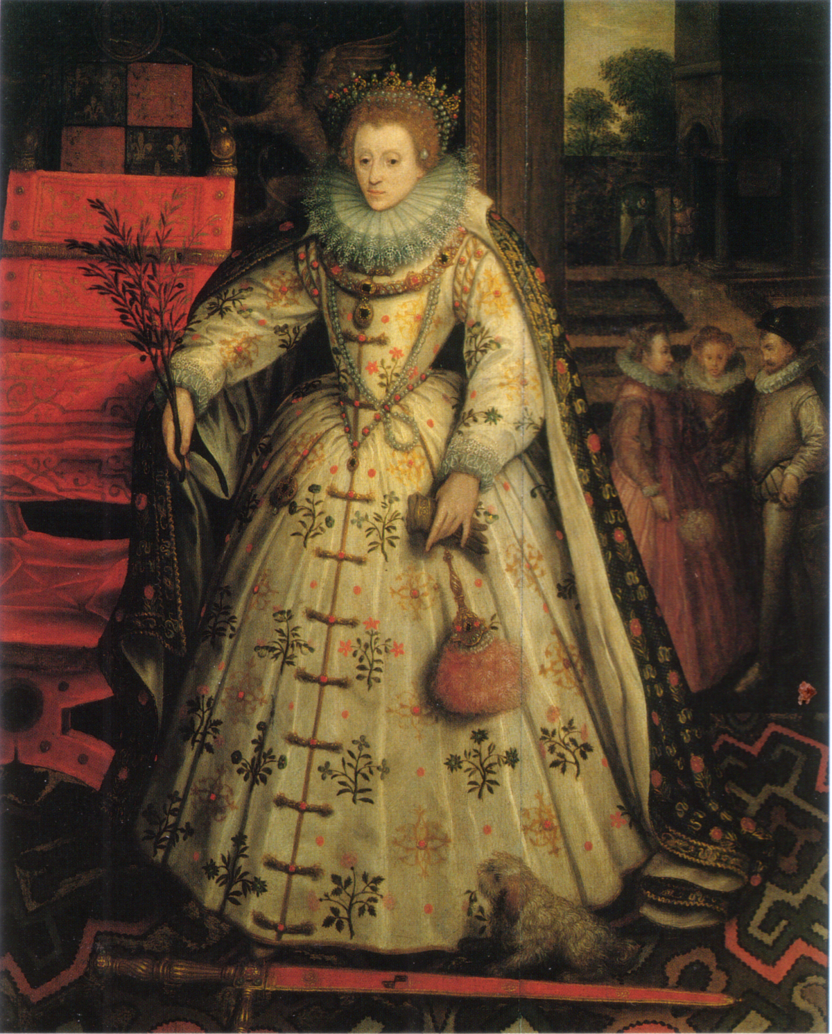 Picture of Elizabeth Threatt  |Elizabethan Actors Portraits