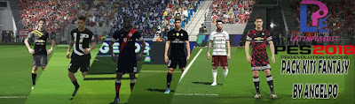 PES 2018 FIFA 18 Digital 4th Kits & Fantasy Kits by AngelPO