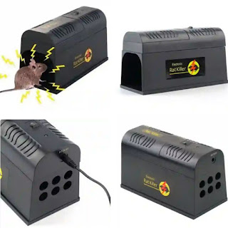 Electronic Rodent Eliminators: Rat and Mice Trap - Household Pest Exterminator Repeller