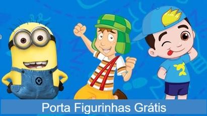 Cadastro Porta Figurinhas Grátis Personagens Infantis