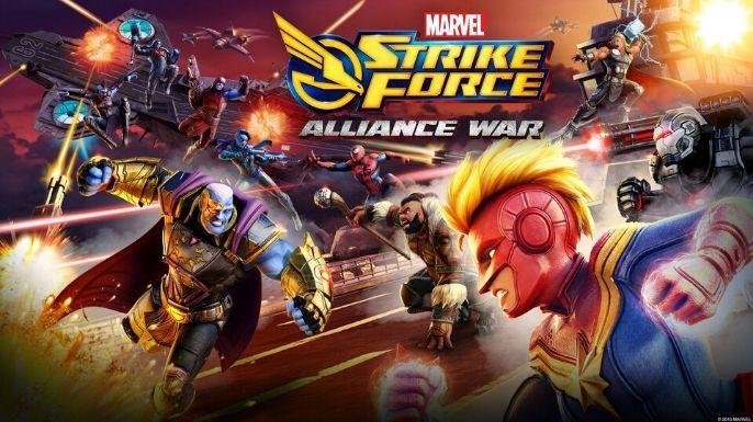 Marvel Strike Force (mobile)