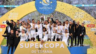 FÚTBOL - El Real Madrid levanta su 11ª Supercopa de España en Arabia Saudí