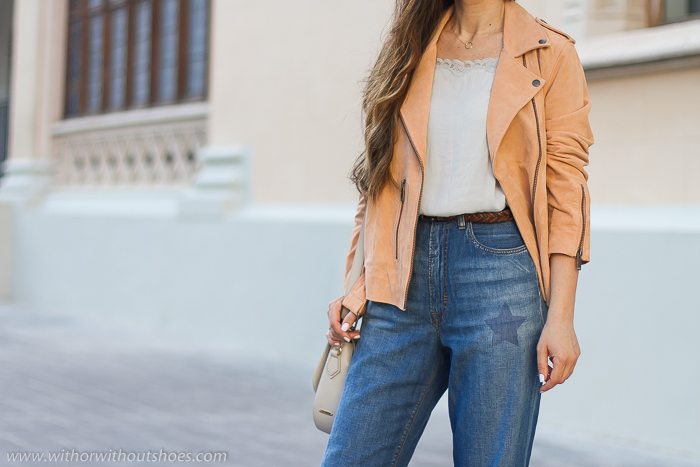 Jeans vaqueros modelo Brigit de Meltin' Pot de cintura alta y de corte recto