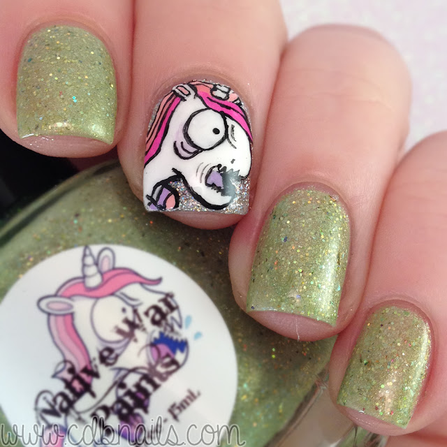 Native War Paints-Zombie Unicorns Love Brains