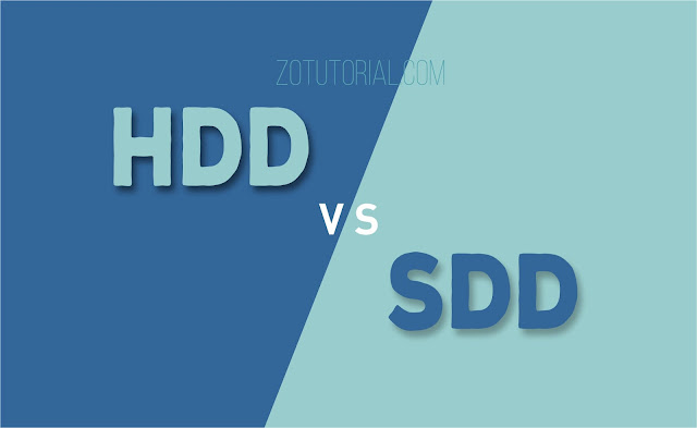 Kelebihan SSD dibanding HDD | Storage SSD vs HDD