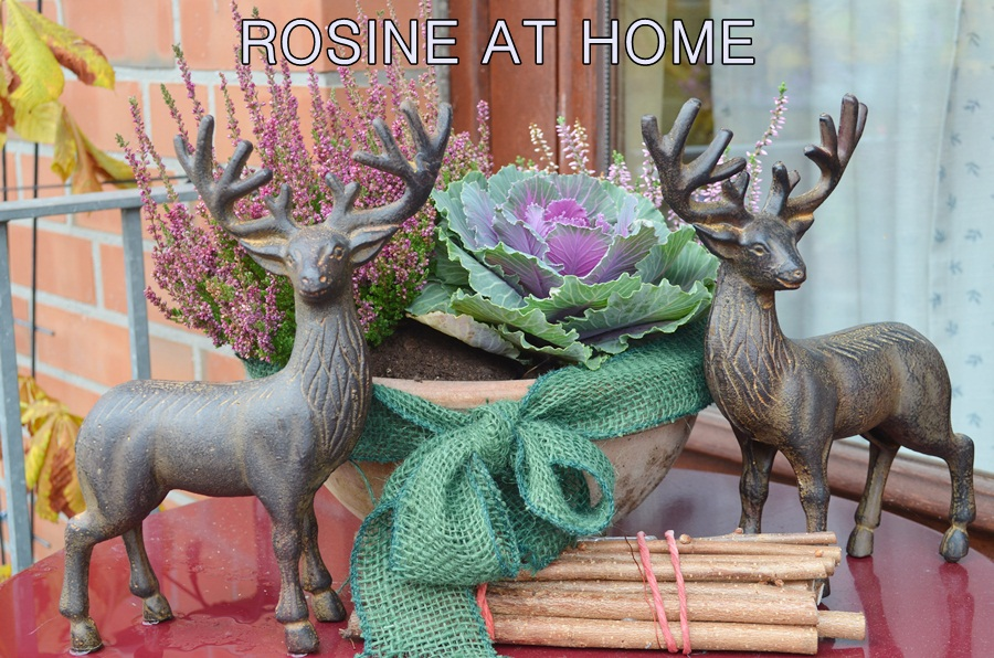 rosine at home herbstdekoration vor der haust r. Black Bedroom Furniture Sets. Home Design Ideas