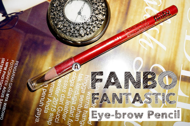 Review+Fanbo+Fantastic+EyeBrow+Pencil+Brown