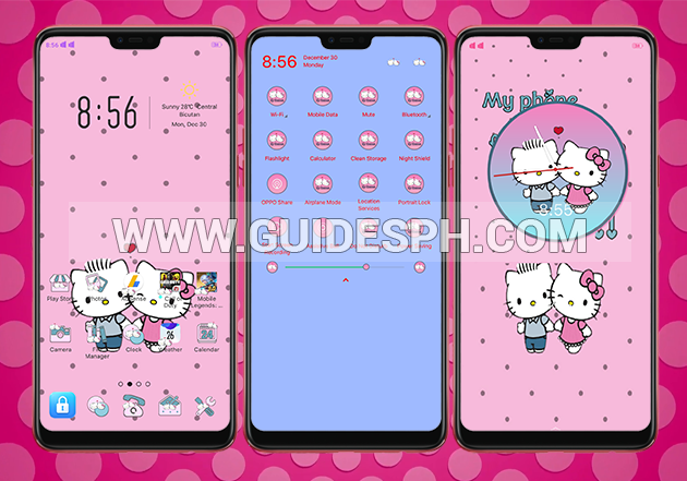 Oppo Theme: Hello Kitty Daniel Theme