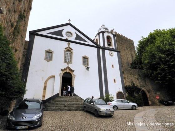 Iglesia de Santiago, Óbidos, Portugal