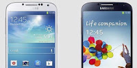 Galaxy S4 dengan iPhone 5