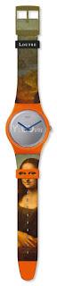 swatch louvre müzesi iş birliği swatch x louvre mona lisa LISA MASQUEE