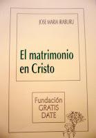 El matrimonio en Cristo