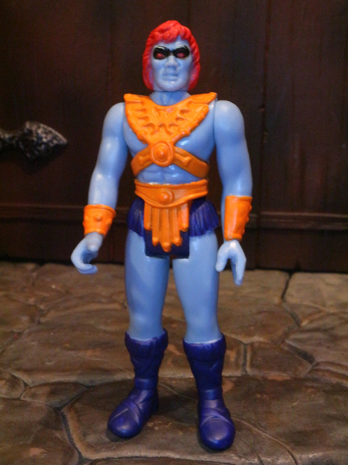 Ram Man Orange Heman Masters of the Universe Super 7 ReAction Action Figure New