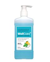 WellCare+ Antiseptic Hand Sanitizer (IPA) - 500 ml Push Pump