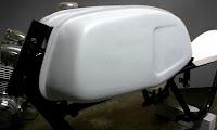 Serbatoio Triumph Trident T150, cafe racer, Triumph, Moto Guzzi,