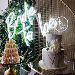 neon sign party rentals, Bride To BE neon sign, party rentals neon signs, Fort Fauderdale neon sign party rentals, Miami neon sign party rentals, Boca Raton neon sign party rentals. bridal shower backdrop