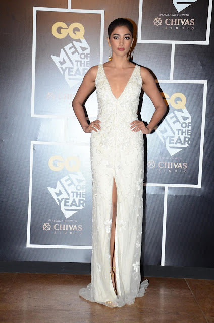 Pooja Hegde at GQ Men of the Year Awards 2016 to celebrate GQ's 8th Anniversary