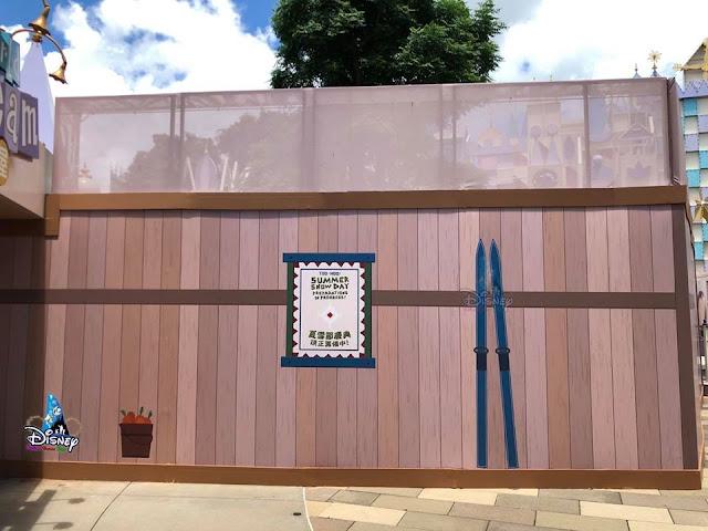 Disney, 香港迪士尼樂園, Hong Kong Disneyland, HK, Construction Update, Disney Magical Kingdom Blog, 魔雪奇緣世界, Arendelle World of Frozen, Frozen Land, 雪嶺滑雪橇, Wandering Oaken's Sliding Sleighs, Frozen Ever After, 魔雪奇幻之旅