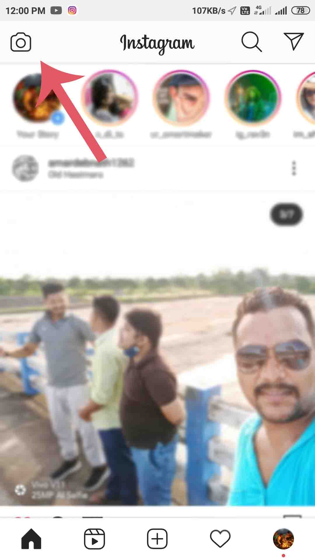 instagram Par Live Kaise aaye [How to Go Instagram Live in Hindi]