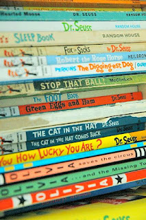 Image: Dr. Seuss books, by Michael on Flickr