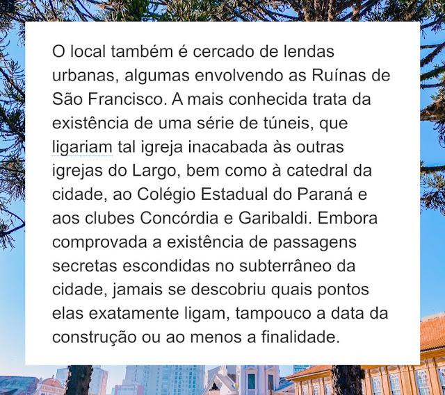 Centro Histórico de Curitiba