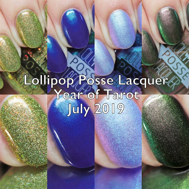 Lollipop Posse Lacquer Year of Tarot July 2019