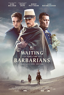 WAITING FOR THE BARBARIANS MOVIE 2020 Johnny Depp, Robert Pattinson