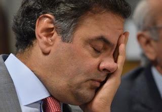 PGR pedirá inquérito contra Aécio Neves,o Mineirinho da Odebrecht