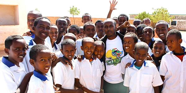 Mohamed Ahmed in Somalia
